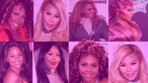 Lil Kim Before and After Look