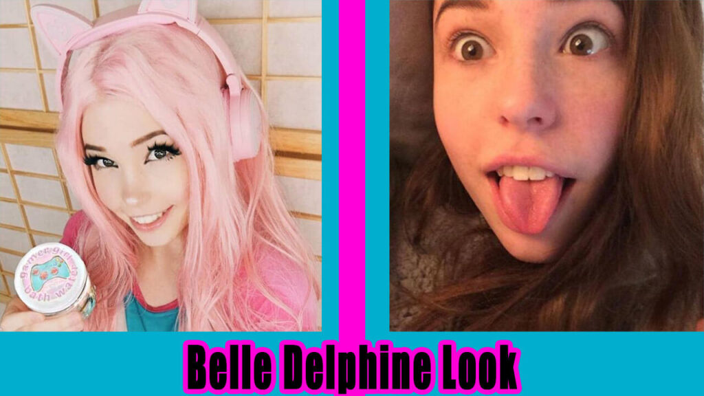Belle Delphine Look Without Makeup