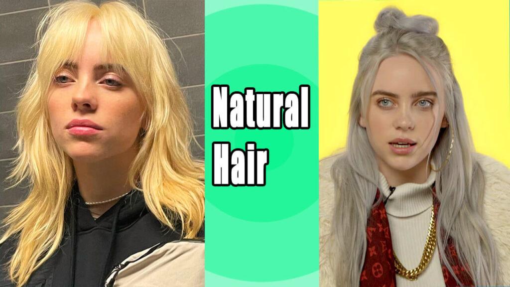 Billie Eilish Natural Hair