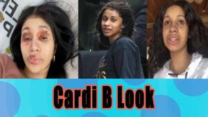 Cardi b without no makeup