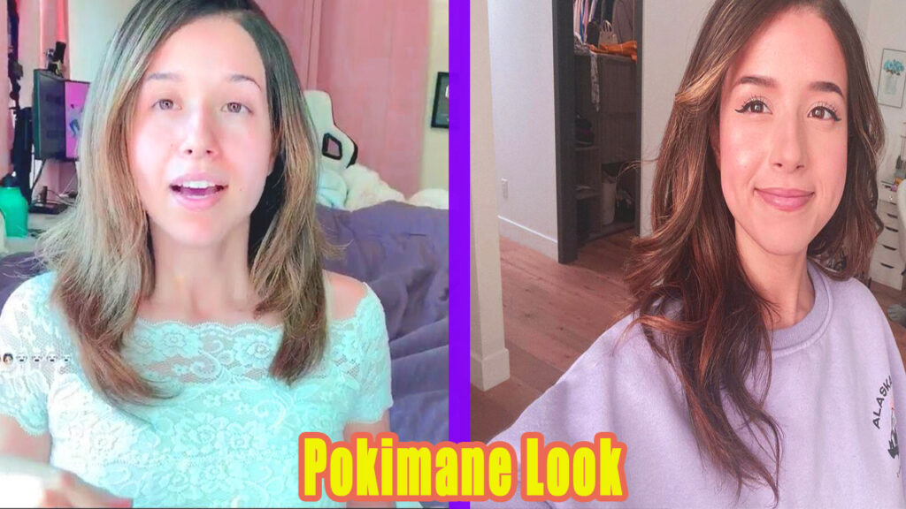 Pokimane Look Without no Makeup Stream